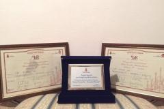 이탈리아 안드레아 포스타키니 국제 현악기 제작 콩쿨 1위,3위 및 특별상