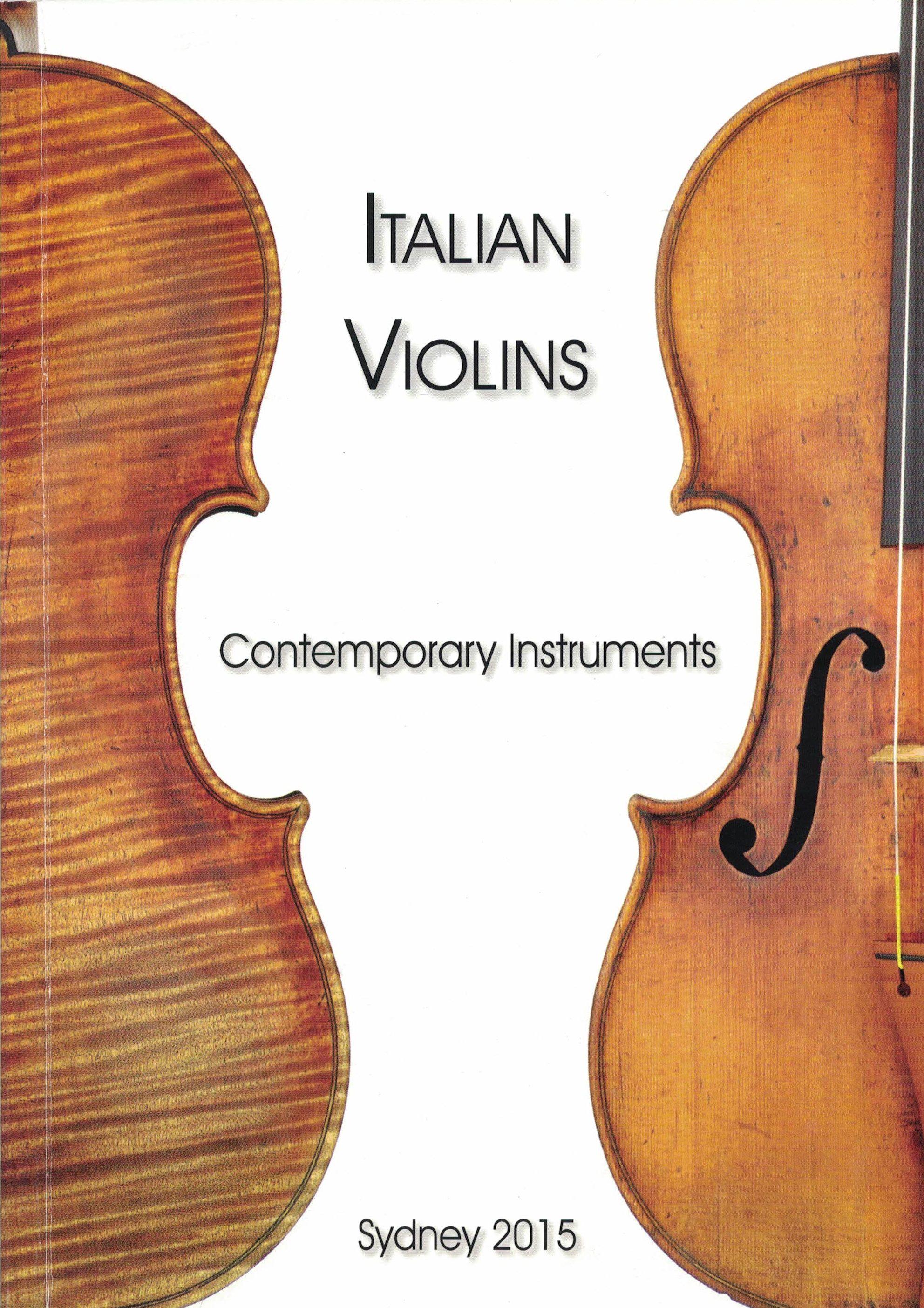 Catalogue 'Italian Violins'