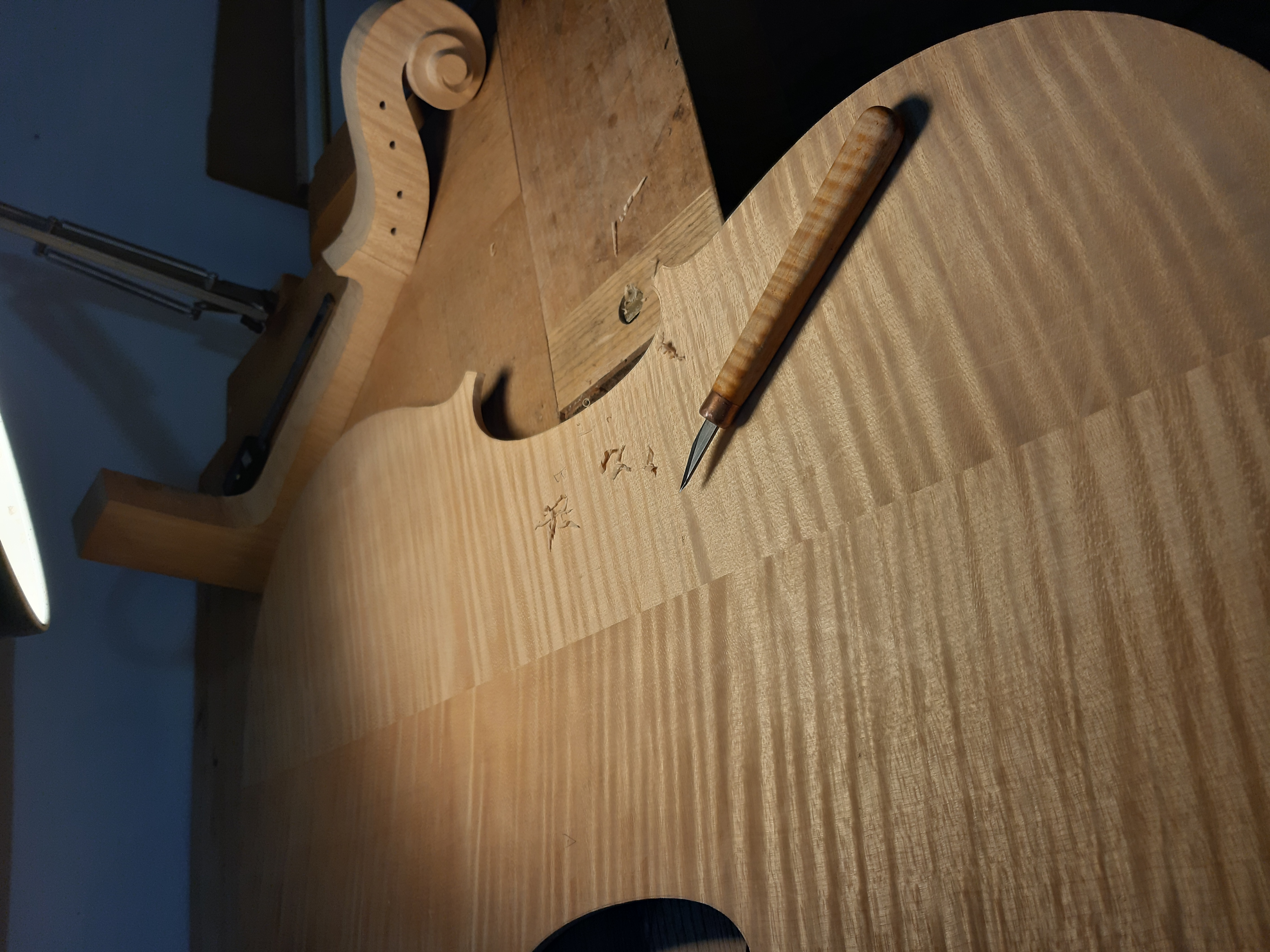 Cello making