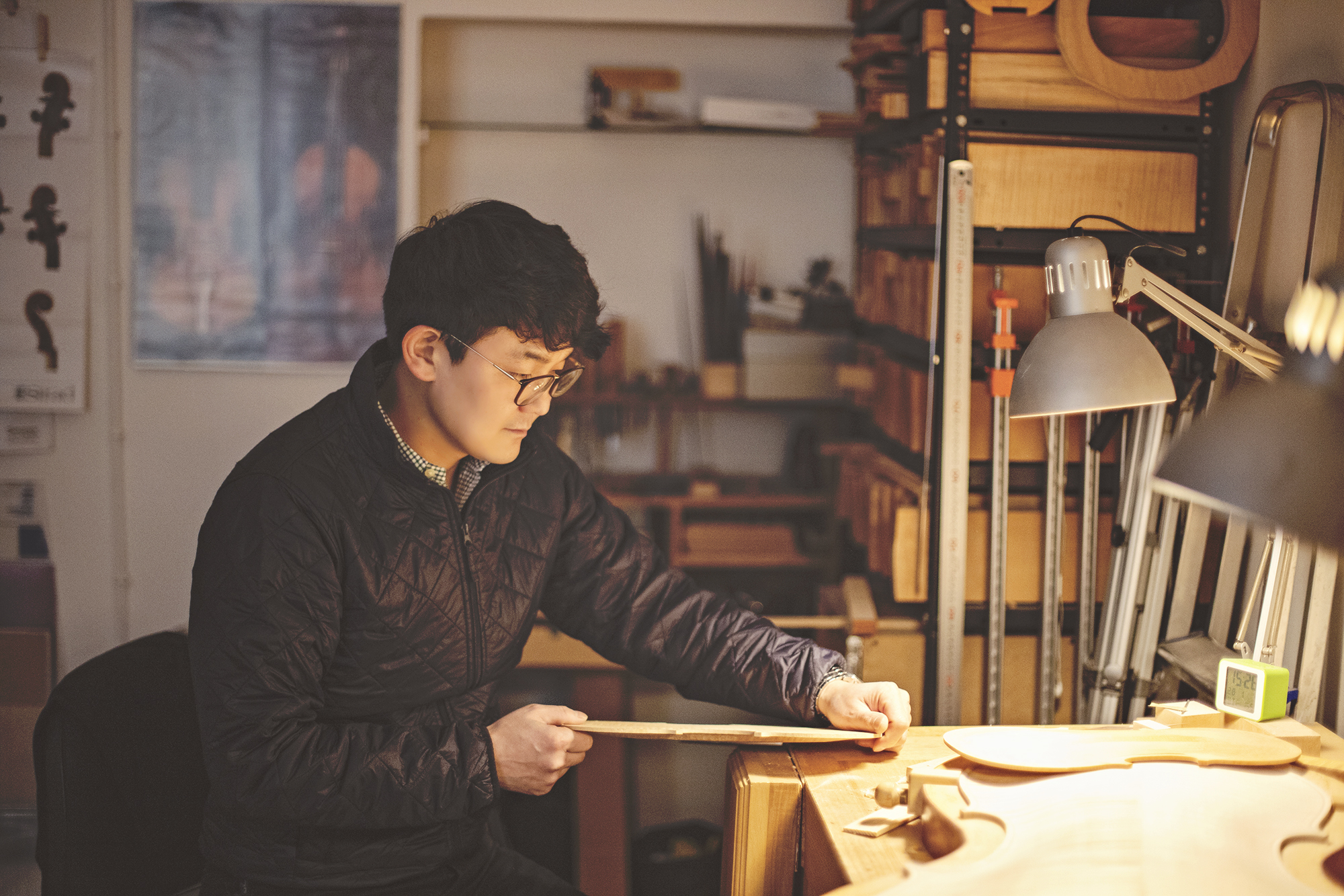 Luthier Lee Seung Jin